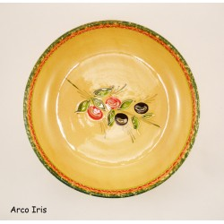 Saladier rond plat OLIVE