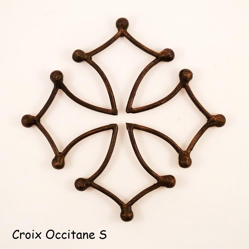 Croix occitane fer forgé