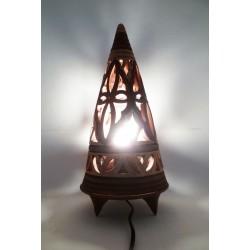 Lampe Pyramide PT Argent