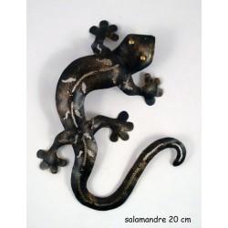 Salamandre metal 20 cm