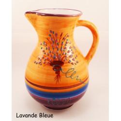 Pichet en céramique 21 cm terre cuite