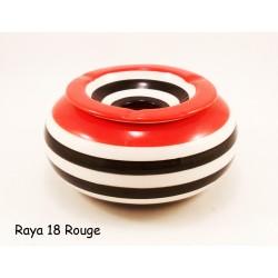 Cendrier raya rouge