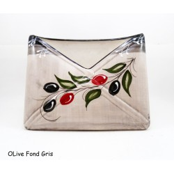 Porte courrier olive