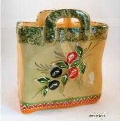 Panier M olive verte
