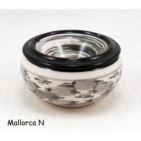 mini-cendrier-Noir et Gris