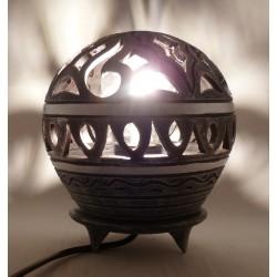 Lampe boule Creme