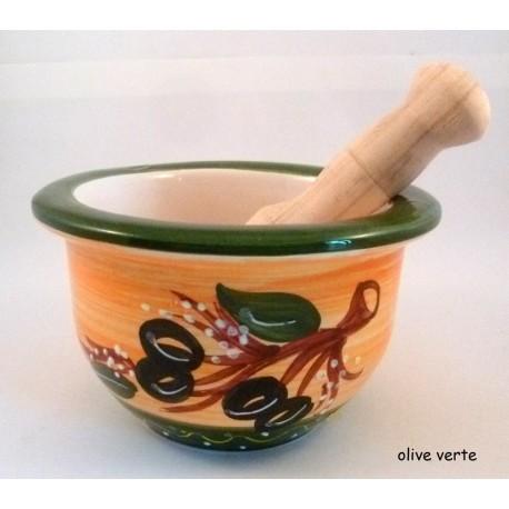 Mortier olive provençale