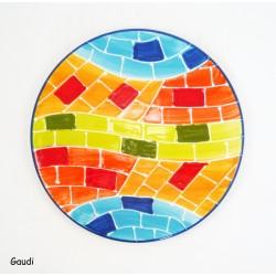 Dessous de plat rond Poissons Colorés