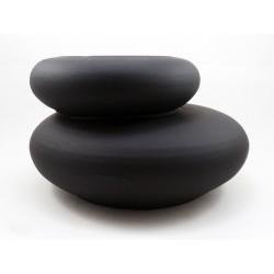 Cache pot imitation galet zen
