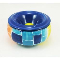 Cendrier à eau peint main