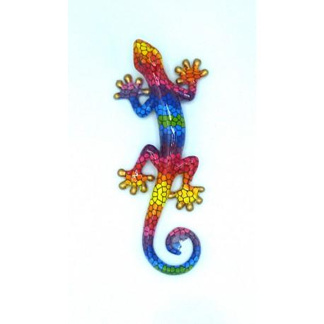 Salamandre décoration résine PM vert