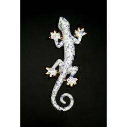 Salamandre décoration résine PM violet