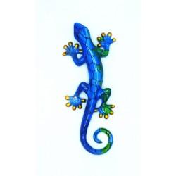 Salamandre décoration résine PM Bleu