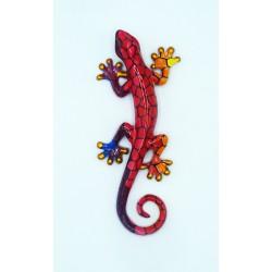 Salamandre décoration résine PM Rouge