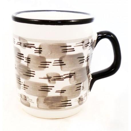 Mug fleur fait main
