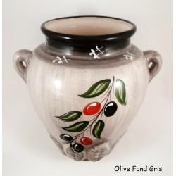 Pot mural 24 cm Olive Verte